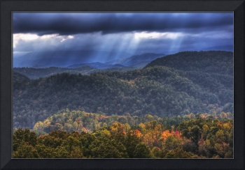 Autumn in Great Smoky Mountains by Jim Crotty
