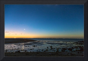 Early Morning Bantayan Starry Sunrise