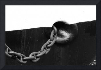Anchor Chain black & white