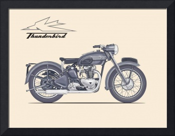 The Classic Thunderbird Motorcycle