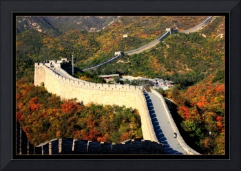 Fall Foliage at the Great Wall