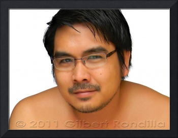 Asian man close-up