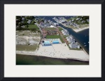 Wychmere Harbor Beach and Tennis Club Aerial #5 by Christopher Seufert