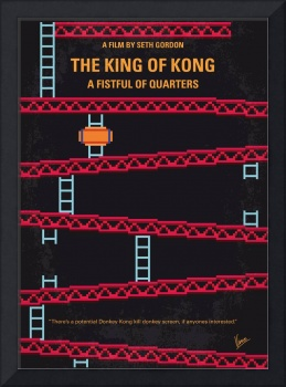 No581 My King of Kong minimal movie poster