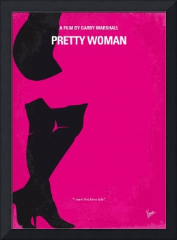 No307 My Pretty Woman minimal movie poster