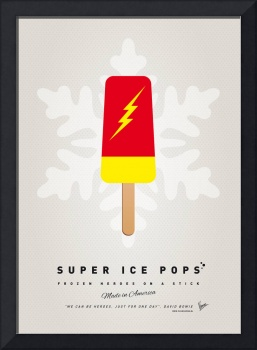 My SUPERHERO ICE POP - The Flash