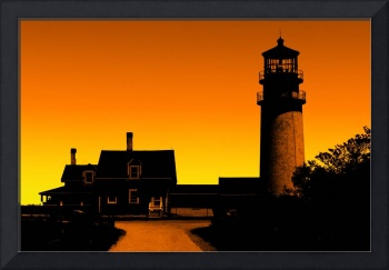 Cape Cod Light - Highland Light - Sunset