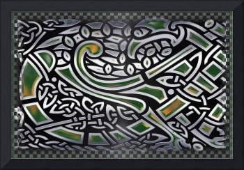 Celtic Birds Tribal Art