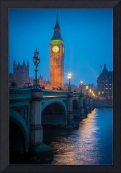 Westminster Bridge at Night