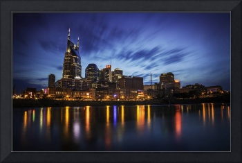 Nashville Skyline Twilight