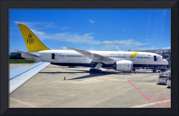 Royal Brunei B-787-8 From Our Silkair A320