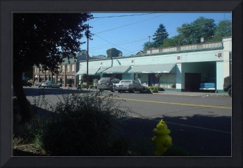 Old Town St Helens Oregon USA