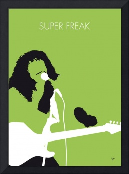 No166 MY Rick James Minimal Music poster