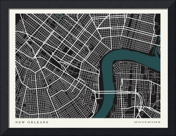 City of New Orleans Map