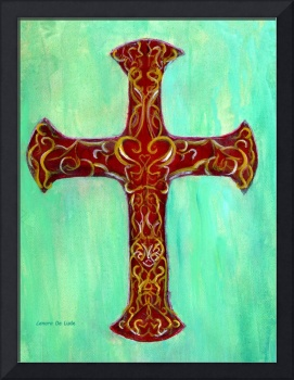 Calligraphic Cross