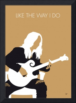 No110 MY Melissa Etheridge Minimal Music poster
