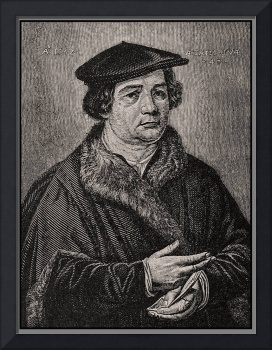 Martin Luther Portrait Reproduction