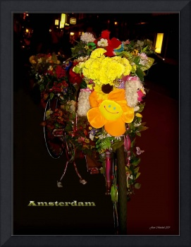 Decorated Amsterdam Bike