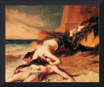Hero and Leander by William Etty