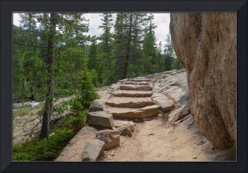 High Country Mountain Wilderness Hiking Path