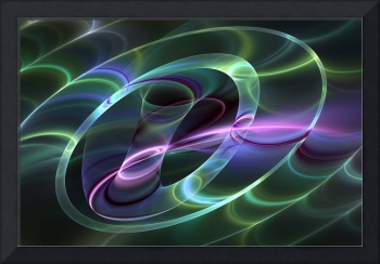 Fluorescent and Abstract Fractal Art