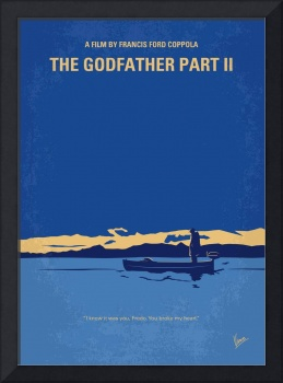 No686-2 My Godfather II minimal movie poster