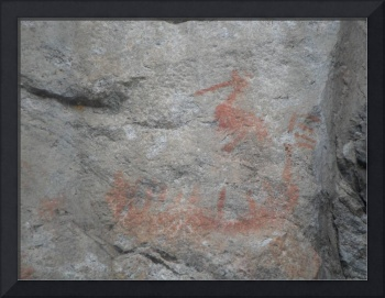 Crooked Lake Pictograph