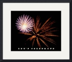 Let's Celebrate  New Years Card  by Jacque Alameddine