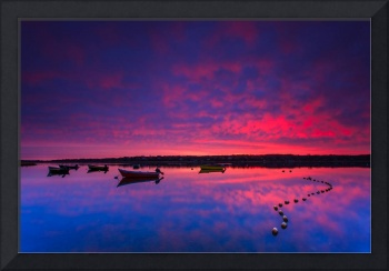 Sky On Fire Eastham Cape Cod