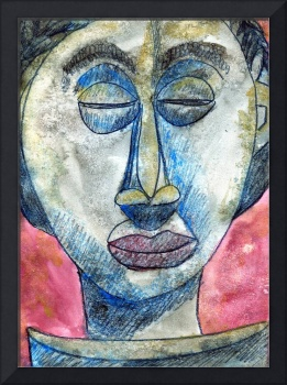 Boyo Ancestor, African Mask Painting