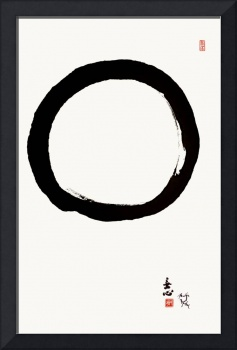 Zen Enso Circle With Mu Shin
