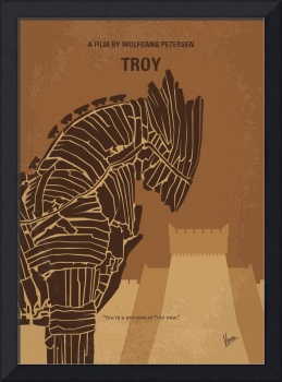 No862 My Troy minimal movie poster