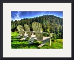Adirondack Chairs by David Smith