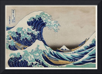 The Great Wave by Katsushika Hokusai