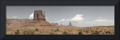 Monument Valley Desert Large Panorama