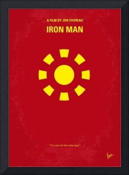 No113 My Iron man minimal movie poster