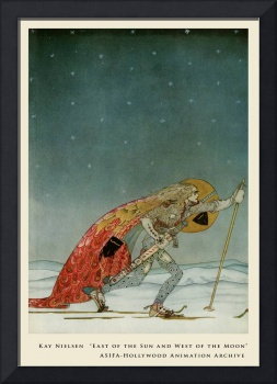 Snow Shoes by Kay Nielsen