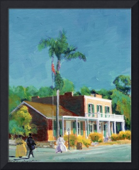 Whaley House, Old Town San Diego by Riccoboni