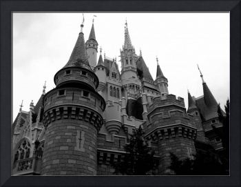 Cinderella's Castle in Disney World