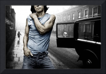 London Street Satisfaction With Mick Jagger The Ro