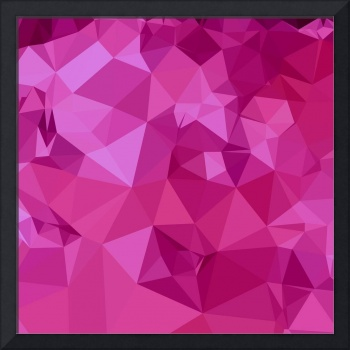 Deep Pink Abstract Low Polygon Background