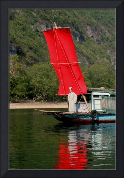 RED Sail Fine Art - Li River, China
