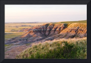 The South Dakota Badlands at Sunrise
