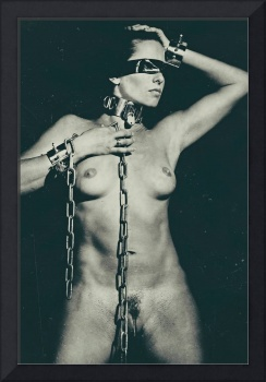 Blindfolded and Cuffed