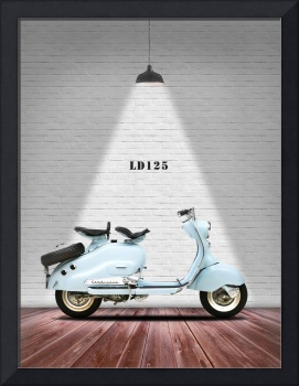 The LD125 Vintage Scooter