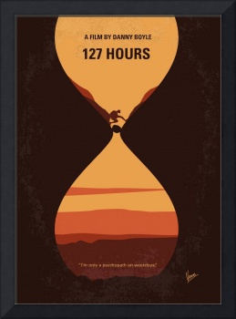 No719 My 127 Hours minimal movie poster