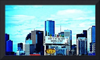 City Skyline Art 4