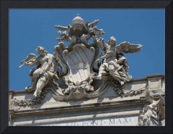 Top of Trevi Fountain
