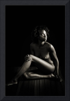 African Light and Shadow Nude Woman Nude1011.1