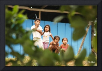 Kids Along the Amazon